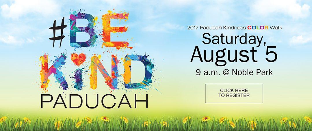 Paducah Kindness Color Walk 2017