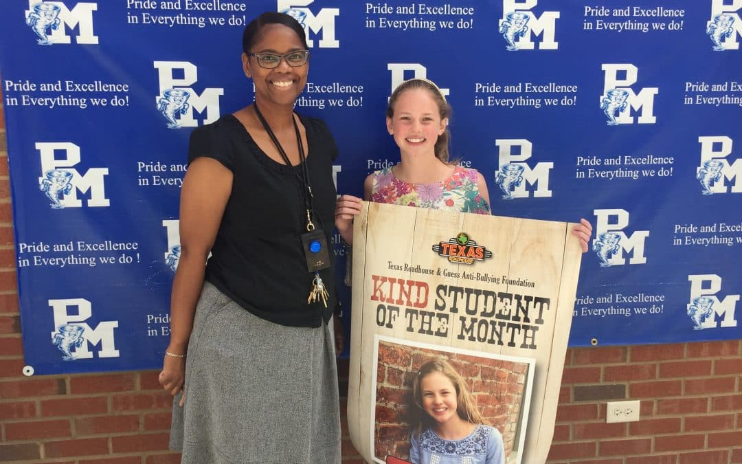 Emmy Seaton Named October Kind Student of the Month