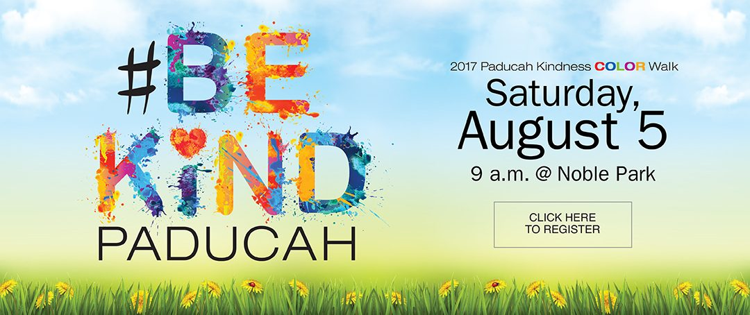 Paducah Kindness Color Walk 2017