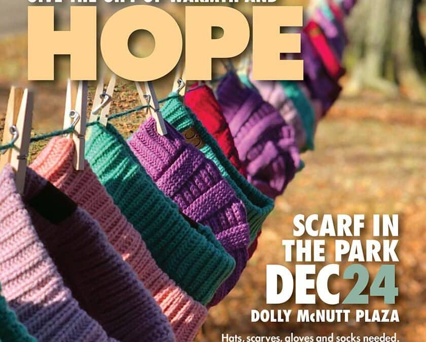 Guess Foundation Hosts 4th Annual Scarf in the Park for Families in Need